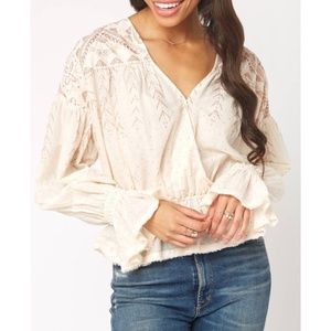 FP Free People Counting Stars Blouse